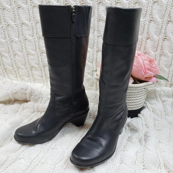 Dansko Schuhes   Knee High Größe schwarz Leder Stiefel Größe High Us 7   Poshmark 60a438